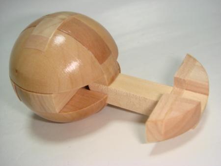 孔明锁大圆球解法步骤图